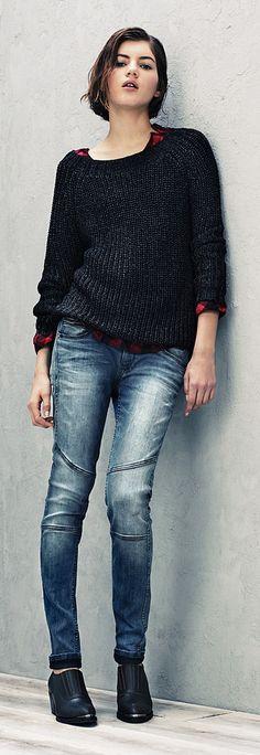 Tolle Mode findet ihr bei #HilfigerDenim bei uns in der #EuropaPassage! #Look #Plonnimonni #ShopsInDerEuropaPassage #EuropaPassageHamburg #fashion #feminine, #stylish and #chic.