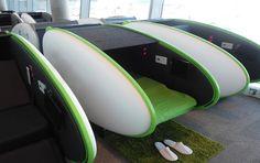 cápsulas de descanso para hoteles aeropuertos