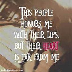 Hypocrite no More: A Sincere Heart