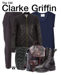 """""""The 100"""" by wearwhatyouwatch ❤ liked on Polyvore"""