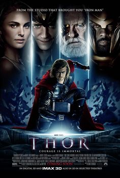Thor directed by Kenneth Branagh and Joss Whedon (2011)