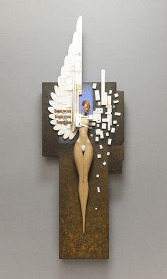UndoneBy John MorrisWood, Paint, Metal