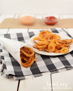 Oven Baked Curly Fries that taste like Arbys! #lmldfood