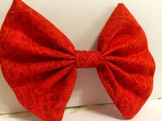 The Dorothy Hair Bow by ThreadsByHatter on Etsy