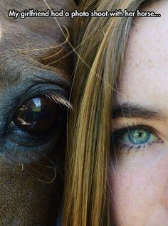 cute-girl-horse-eyes-selfie