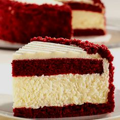Red Velvet Cheesecake! 2 of my favorite desserts combined :)