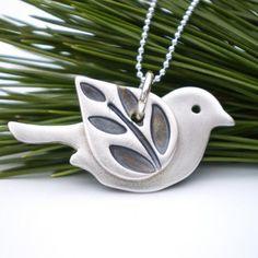 Lovely little bird pendant!