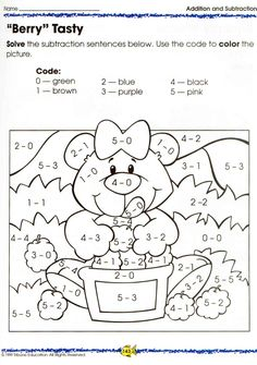 The complete book of MATH grades – U. Math Addition, Addition And Subtraction, Preschool Worksheets, Preschool Activities, Kids Study, 1st Grade Math, Grade 1, Basic Math, Free Math