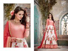 BELLA- Vintage designer Anarkali dresses for wedding and party Designer Anarkali Dresses, Pakistani Designer Suits, Designer Party Dresses, Party Wear Dresses, Floor Length Anarkali, Anarkali Suits, Indian Anarkali, Churidar Suits, Pakistani Outfits
