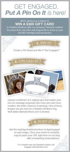 Robbins Brothers Exclusive Pinterest Contest: Put A Pin On It! #promotionexample