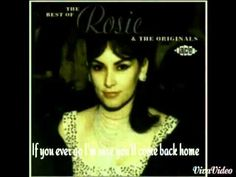 Angel Baby~Rosie & The Originals   Lyrics - YouTube
