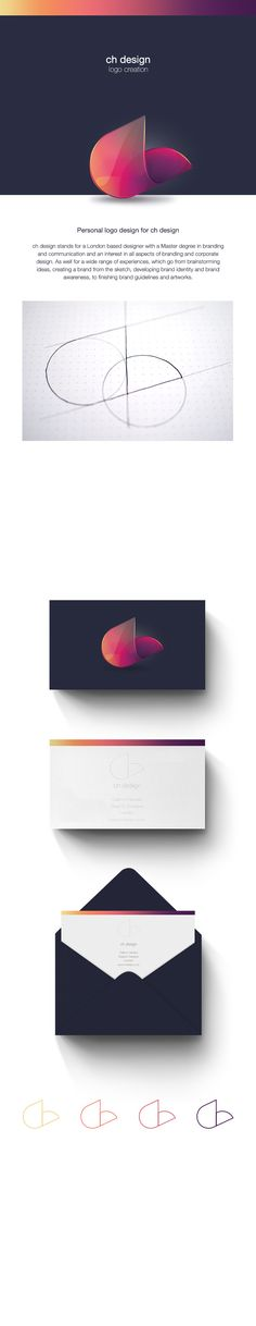 Personal logo design Branding, Graphic Design http://www.behance.net/Cathrinhansen