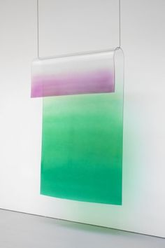 Craig Kauffman, Untitled, 1969. Acrylic and lacquer on plastic