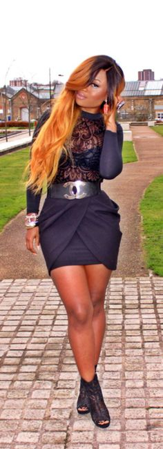 BlackOut / Fashion Bible #streetstyle