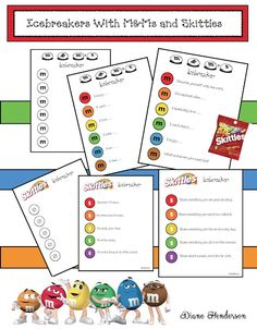 M&Ms and Skittles Icebreaker Games For Back To School