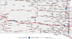 Map Of State Of South Dakota With Outline Of The State Cities - South dakota map with towns