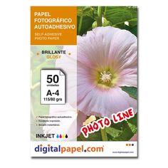 Papel fotográfico autoadhesivo (50 hojas)