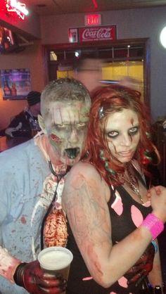 Zombie costume diy