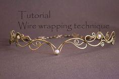 Wire Wrap Tutorial Tiara tutorial Wire Wrapped от StasyaWireWrap