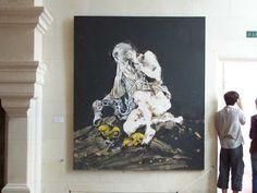 L'ivre de lettres et de couleurs: Paul Rebeyrolle à Chambord