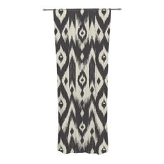 "Buy at KESS online but are sheer and only 84""...Found it at AllModern - Tribal Ikat Curtain Panels"