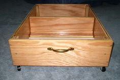 Under Bed Storage Rolling Drawer Storage Box for by Odyssey359