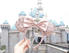 I am not normally one to buy Mickey/Minnie ears but these might have to be a purchase when we're in Disneyland!