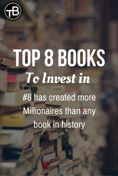 8 Top Bücher über finanzielle Freiheit - Top 8 Books to invest in