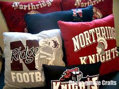 Decor-ganize Crafts: Easy T-shirt Pillows