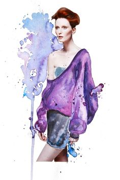 Fashion magazine collage illustration with hand-cut images and watercolours - By Katie from Lemon Design, Auckland, New Zealand Fashion 2017, Trendy Fashion, Fashion Art, Kids Fashion, Fashion Design, Fashion Model Poses, Fashion Models, Magazine Collage, Cut Image
