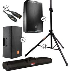 """JBL JBL EON Powered 15"""" Two-Way System with PA Speaker Pro"""
