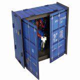 #1: Werkhaus - Schluesselkasten in Container-Optik, blau (CO1061) - http://www.xn--brombel-profi-lmb0g.com/bueromoebel/1-werkhaus-schluesselkasten-in-container-optik-blau-co1061
