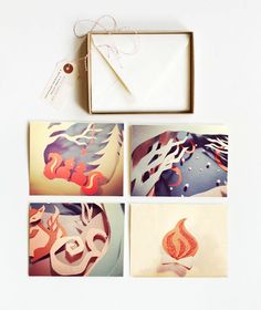 Forest Forever by Allison Freund, via Behance