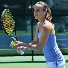 How Tennis Players Stay In Shape | Former world No. 1, Martina Hingis, shares her fitness advice. | Find out more at www.redonline.co.uk