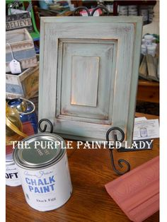 Duck-Egg-blue-Primer-Red-Cabinet-display-Close-Up-view1.jpg (720×960) also has gilded wax as last step