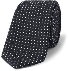 Alexander OlchDotted Cotton Tie