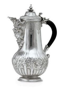 A MALTESE SILVER COFFEE POT | CIRCA 1690 | SILVER Auction | coffee pots, All other categories of objects | Christie's