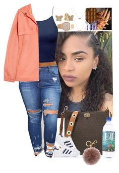 """""""Untitled #3766"""" by astoldby-kay ❤ liked on Polyvore featuring MICHAEL Michael Kors, adidas, A.P.C., Pandora and ASOS"""