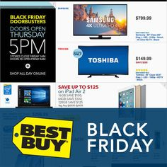 View the Best Buy Black Friday 2015 Ad  with Best Buy deals and sales