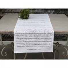 Bieżnik na stół L'evangile de Noel