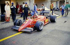 1985 Dutch Grand Prix - Michele Alboreto, Ferrari 156/85