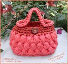 Penye İpten Örgü Çanta Modelleri 39 Bag Crochet, Crochet Gloves, Crochet Purses, Crochet Bag Tutorials, Crochet Projects, Crochet Patterns, Diy Clutch, Clutch Bag, T Shirt Yarn
