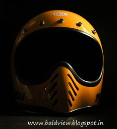 Yellow Bell Moto 3 Helmet