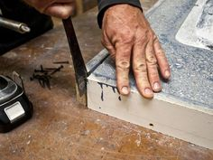 This DIY step-by-step guide will show you how to make concrete countertops with the precast method. Build a mold, mix, add color, seal and wax your counter.