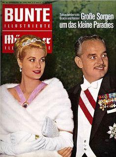 1962: Fürst Rainier und Fürstin Gracia Patricia von Monaco