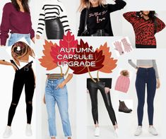 Style: Autumn Capsule Wardrobe Wishlist