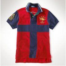 f0adbaba50d3 polo ralph lauren dual match classic fit uomo rosso Questo unico persone  shirt design Polo