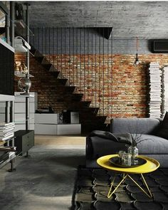 Industrial House Design loft tour: retro-industrial design | spiral staircases, industrial