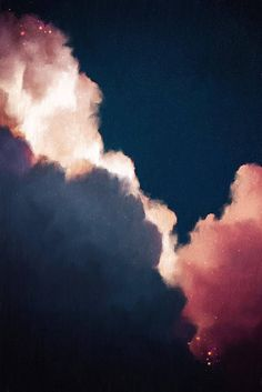 Abstract Art Cloud Painting