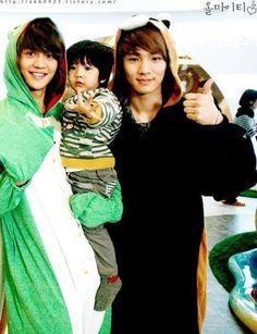 Minho Yoogeun and Key! No one can beat SHINee Hello Baby!!